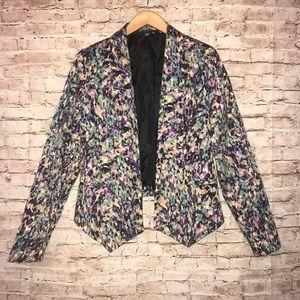 Mossimo Open Abstract Blazer Jacket